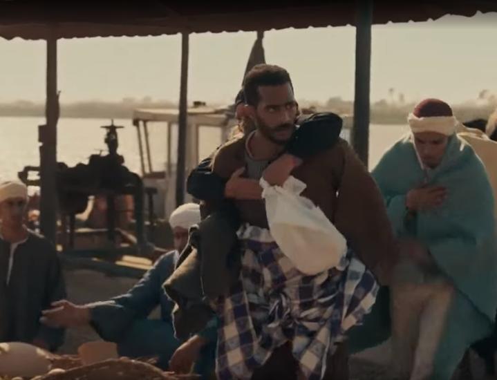 مشهد من مسلسل موسى